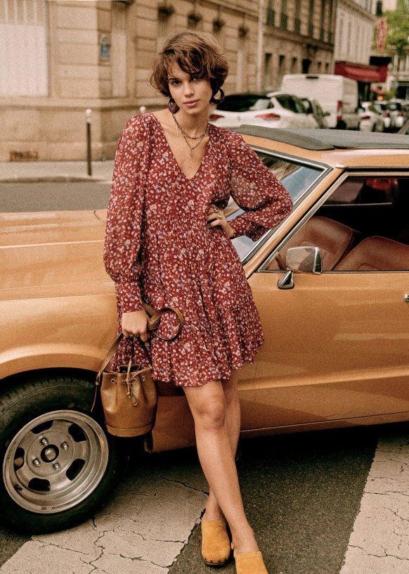Aurena Dress   Sezane Paris