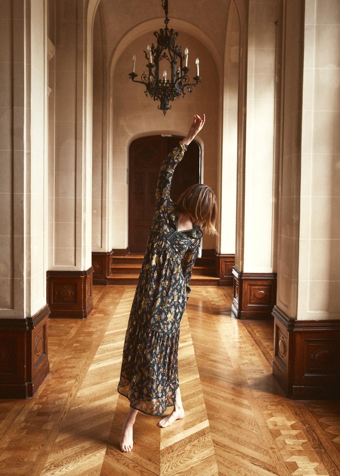 Robe Davyda sezane vertedoré longue